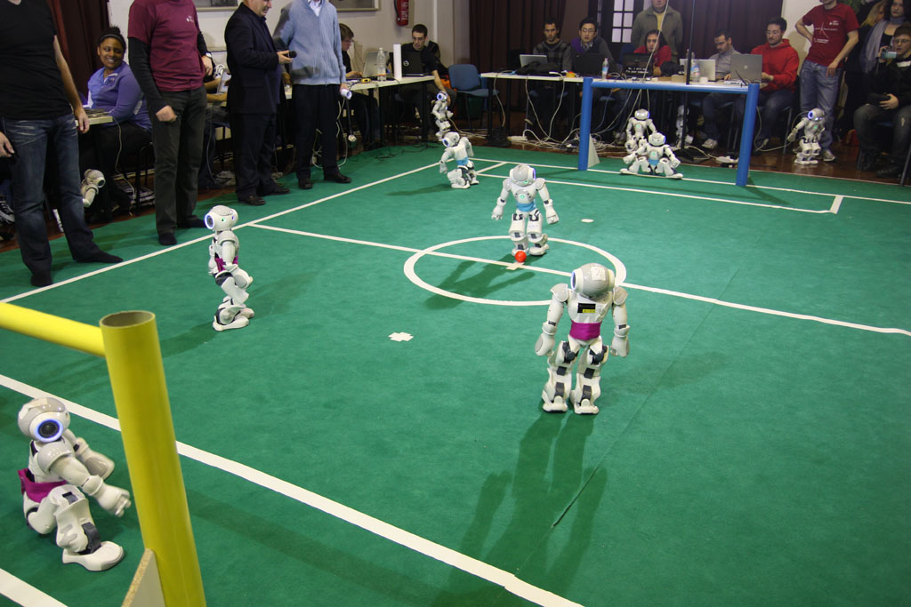 RoboCup game