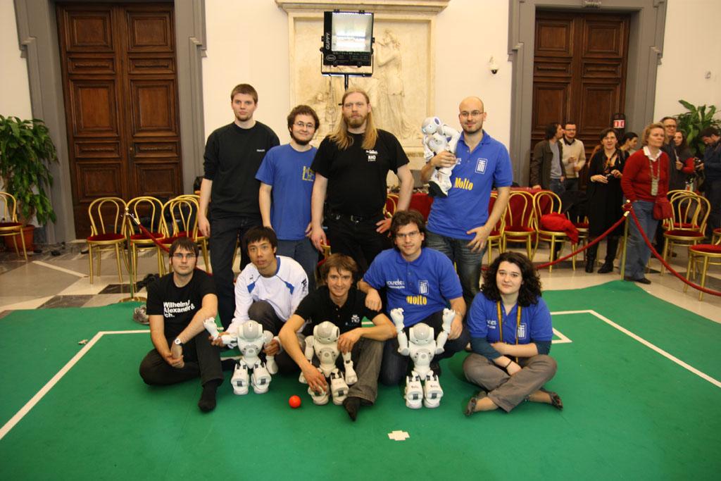 Nao Team Humboldt, Austrian Kangaroos, Kouretes